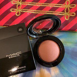 MAC Blush and makeup bag